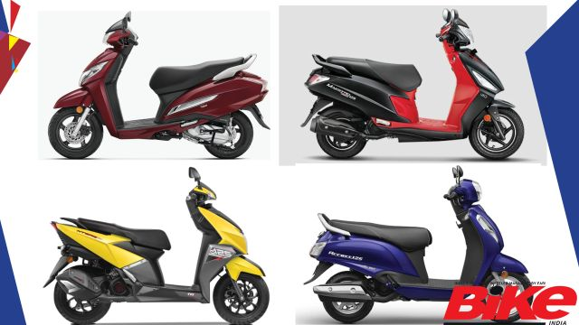 Best 125 Cc Scooters Spec Comparo Bike India