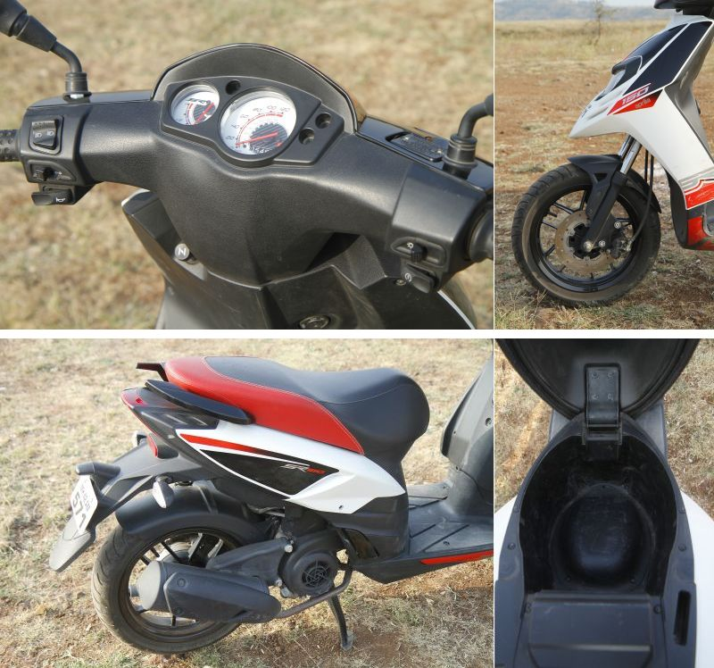 2018 Indian scooter compare price and specs - Honda Grazia Yamaha Ray ZR Aprilia SR 125 M11