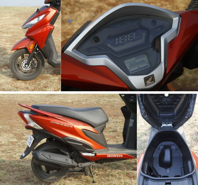 2018 Indian scooter compare price and specs - Honda Grazia Yamaha Ray ZR Aprilia SR 125 M12