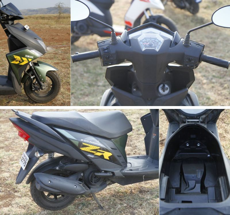 2018 Indian scooter compare price and specs - Honda Grazia Yamaha Ray ZR Aprilia SR 125 M13