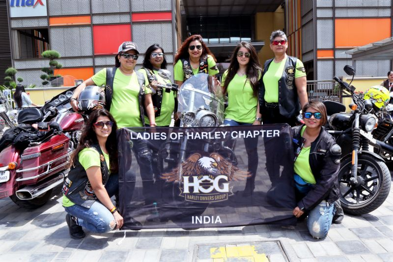 2018 Ladies Of Harley Golden Quad 6000 km ride