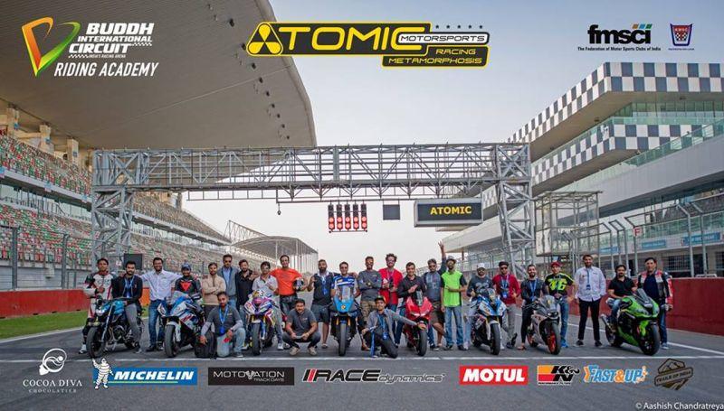 new, bike, india, riding, school, racetrack, motorcycle, learning, training, atomic motorsports, buddh international circuit, delhi, news, latest