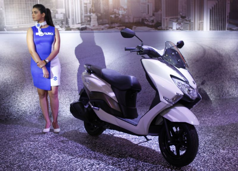 Suzuki Burgman Street 125 maxi scooter in India