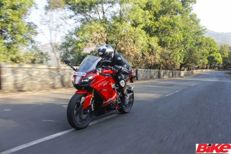 new, bike, india, tvs, apache, rr 310, sports, motorcycle, red, road test, price, hike, news, latest