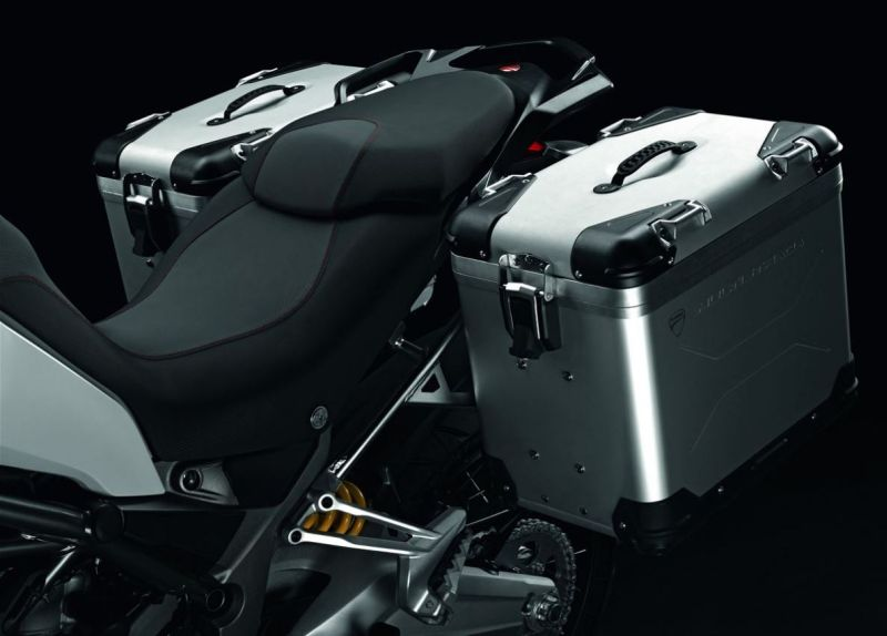 2018 Ducati Multistrada 950 offered with free Aluminium Panniers