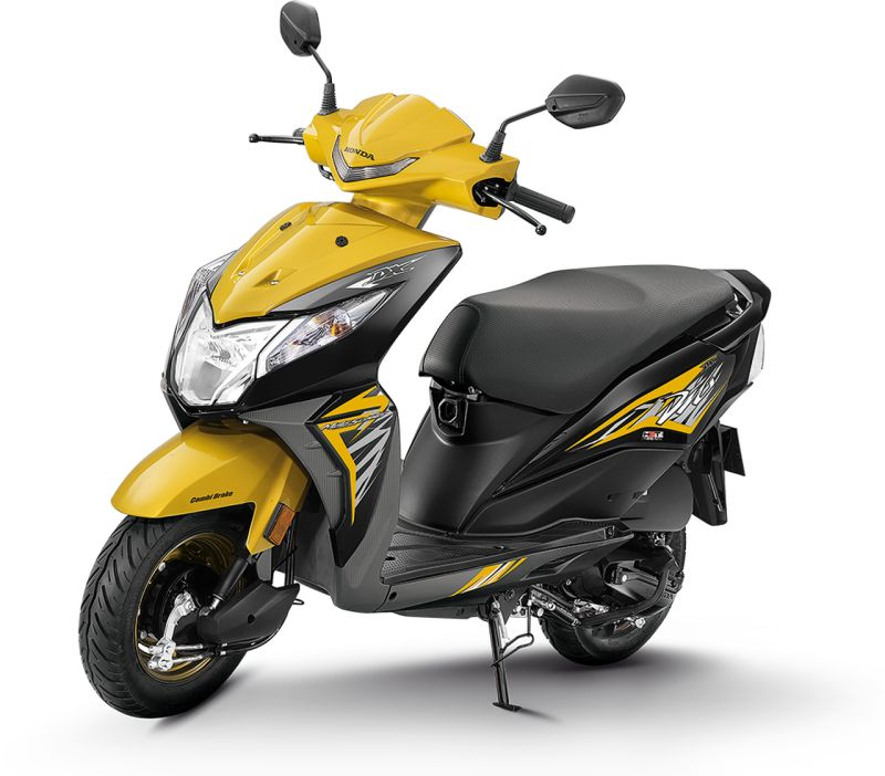 2018 Honda Dio has been launched with some attractive features