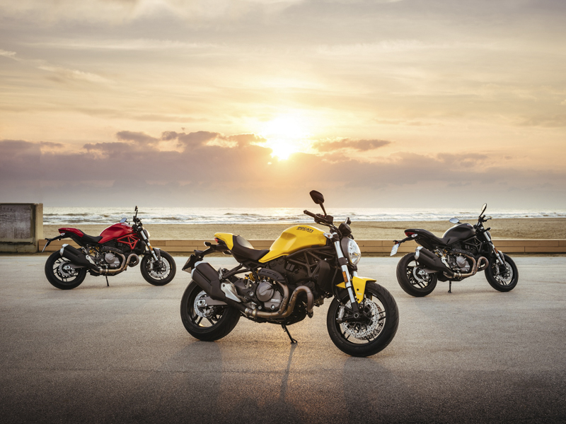 The Ducati Monster 821 is back with an attractive price and some new features.
