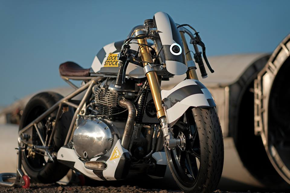 We take a look at RE's interpretation of a retro dragster.