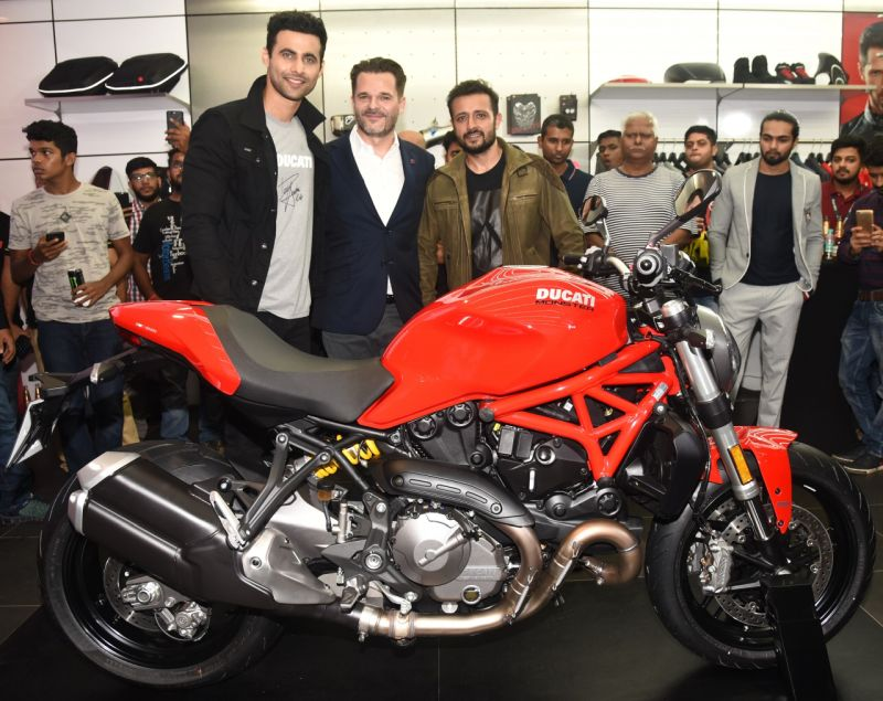 Ducati start deliveries for the Monster 797+ and the Monster 821.