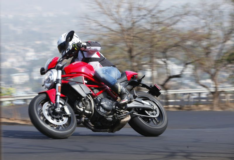 Ducati Monster 797 India test review