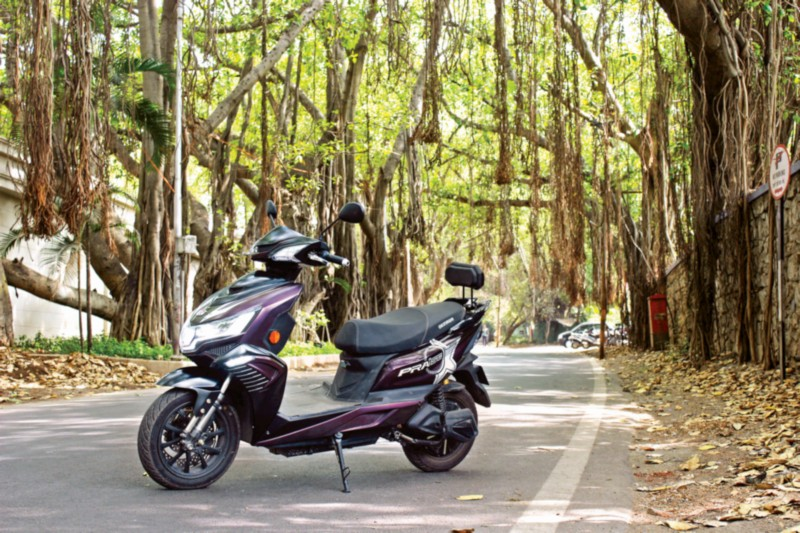 Okinawa Praise electric scooter