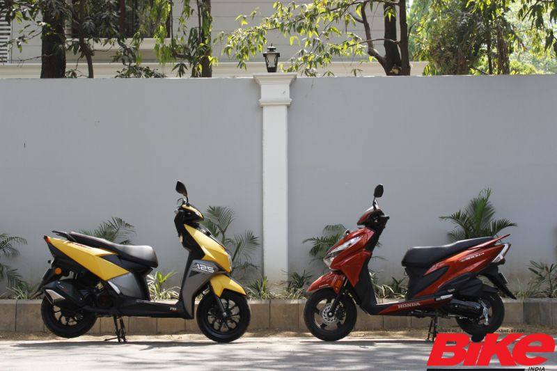 Premium scooter sales are on the rise. The Honda Grazia and the TVS Ntorq 125 are steadily gaining momentum in terms of sales.