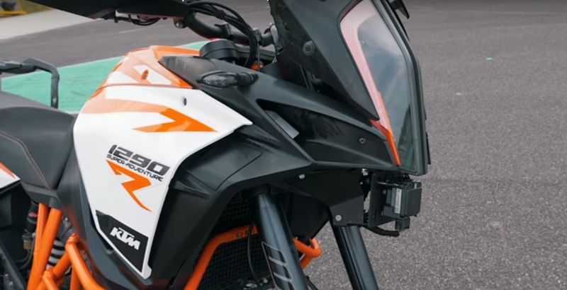 We do some digging to find out what rider aids KTM are developing.