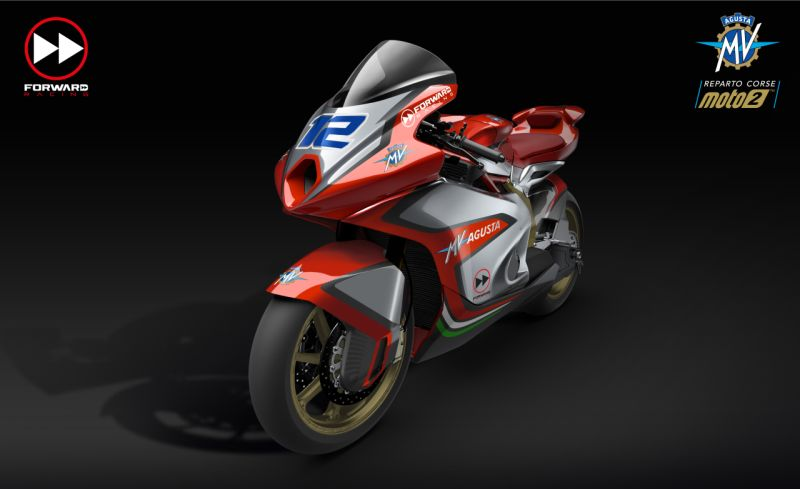 MV Agusta are back in the Grand Prix scene. Take a look at their racing motorcycle.