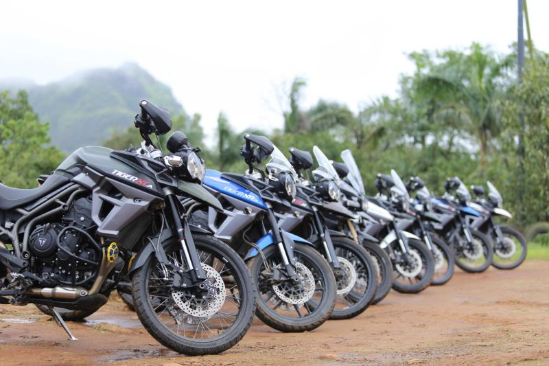 The second edition of the Triumph Tiger Trails to kick off in July