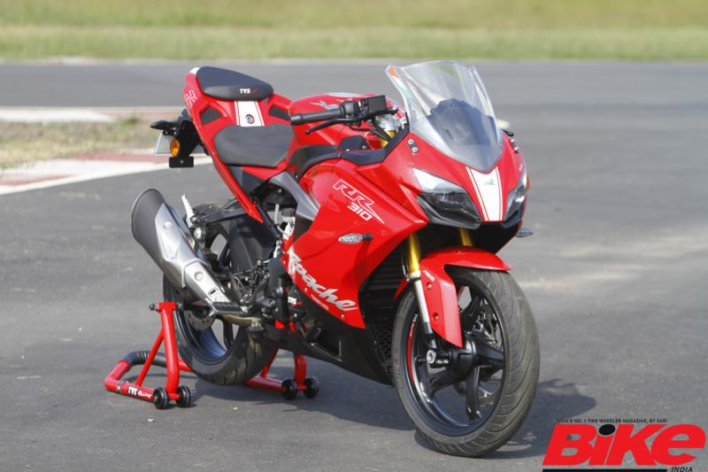 TVS release spare part price list for the Apache RR 310