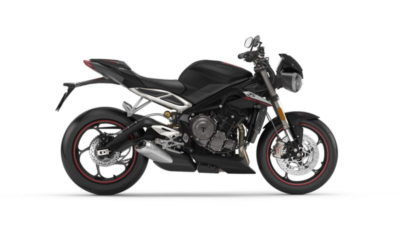 2018 Triumph Street Triple RS Gets Two New White and Matt Black Colour Options in India