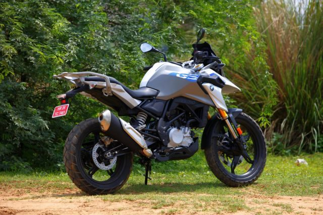 The baby GS isn't meant to be an enduro but can do some off-roading