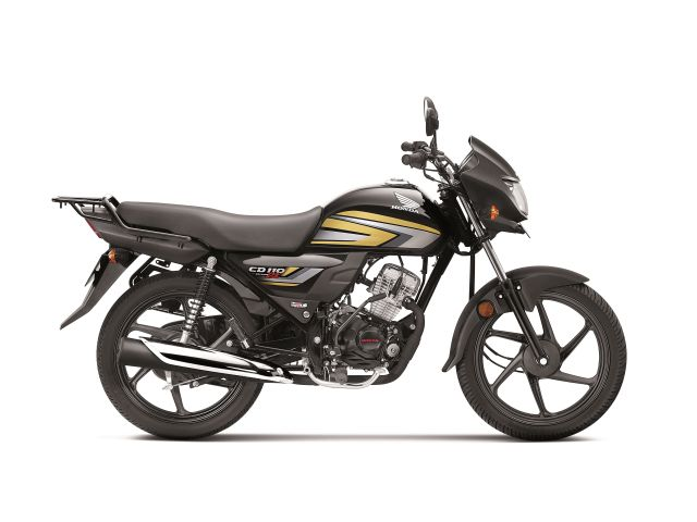 Honda CD 110 DX Black with Cabin Gold launch price in India