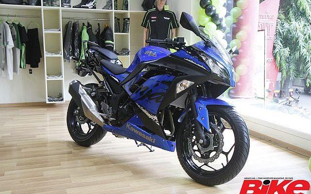 New Kawasaki Ninja 300 Launched