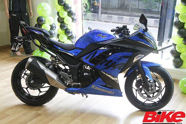 The all new Complete Knock Down (CKD) Kawasaki Ninja 300
