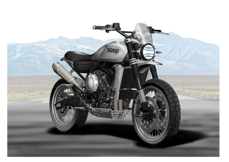 Norton Motorcycles CEO reveals the final rendering for their upcoming motorcycle