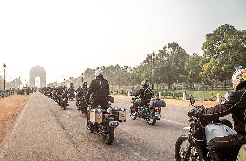 Royal Enfield Commence 15th Edition of The Himalayan Odyssey