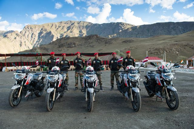 Military Police Ride From Bangalore to Dras For Kargil Vijay Diwas