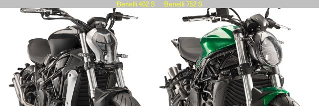 Benelli 402 S and 752 S were shown at EICMA