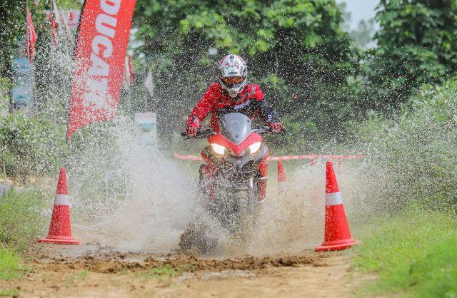 Ducati India recently held their debut DRE off road in Gurugram