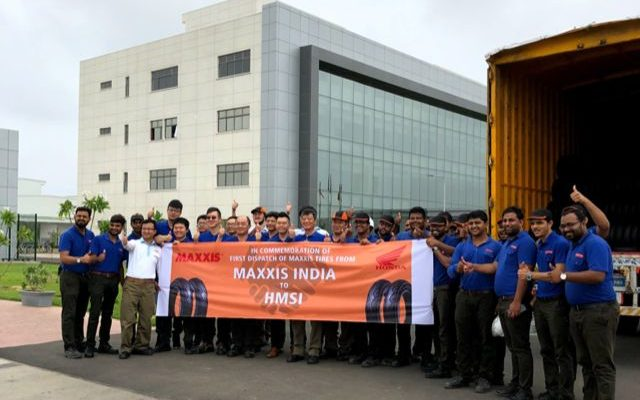 Maxxis Roll Out First Batch of Made-in-India Tyres for Honda