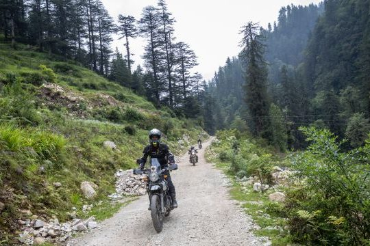 Royal Enfield Unroad Himachal - The first trail for the event