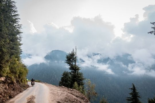 Royal Enfield Unroad Himachal - Scenic beauty was thrown at us at each turn on off-road trails like these
