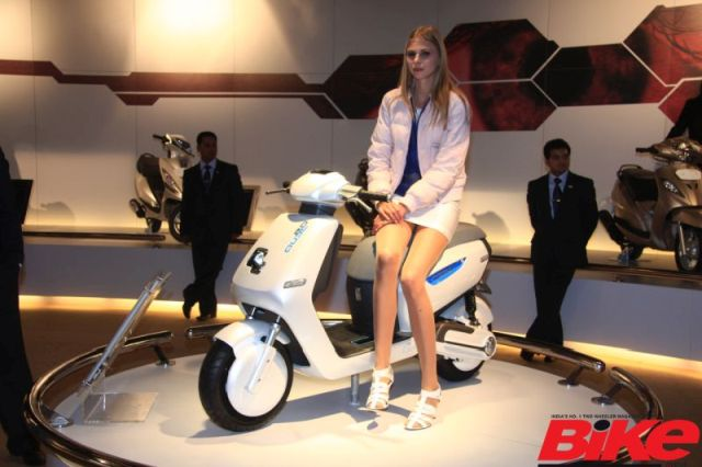 TVS may launch hybrid scooter, Qube 2.0, later this month