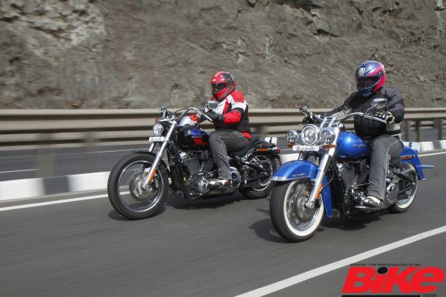 Harley-Davidson offer a great exchange scheme for their Softail range