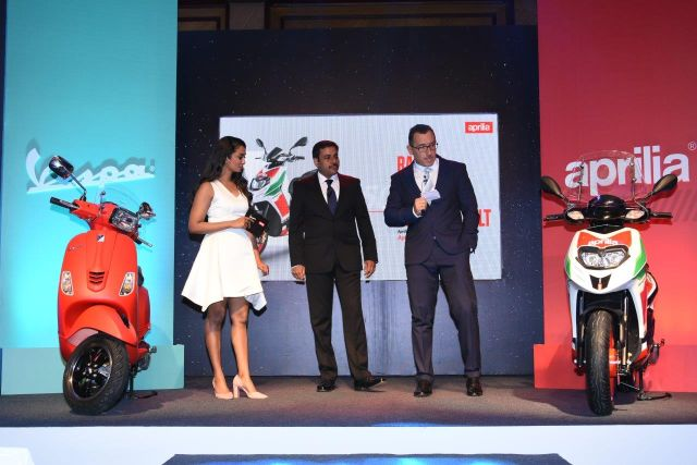 New Aprilia and Vespa 150 scooters get digital display and smaprtphone connectivity