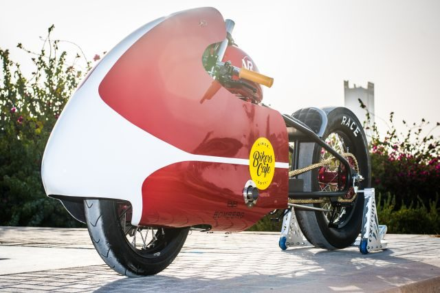 VR Customs from Dubai modify Hero 150 bike in to a turbocharges monster