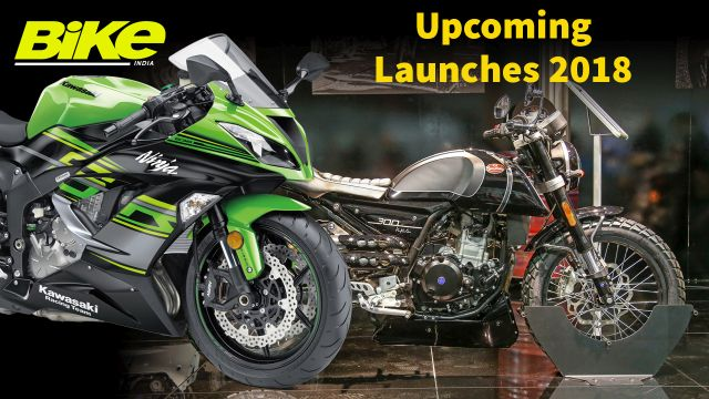 7 Motorcycles Launching in India in 2018