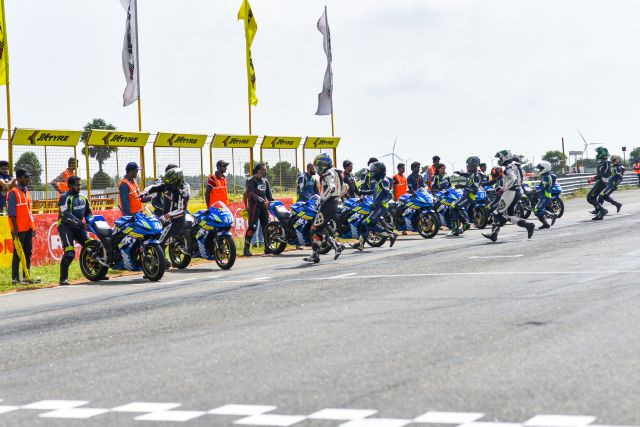 We were part of an endurance race organized by Suzuki. Check out our race experience