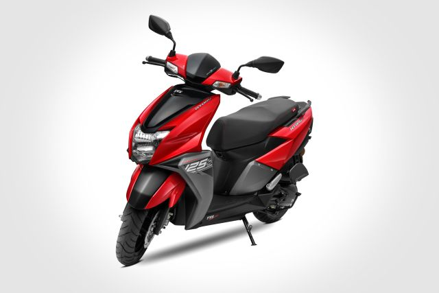 TVS launch new colour for Ntorq 125 cc scooter