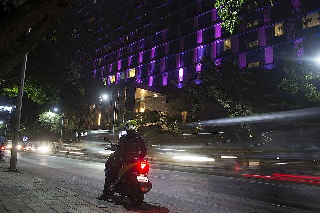 Navigating the Night - TVS Ntorq - Night Ride - Pune