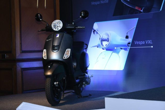 Vespa Notte limited edition comes with 125 cc motor and all-black theme