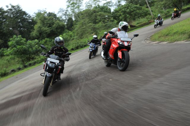 We were part of the Sri Lanka celebration ride for three million Apaches sold worldwide