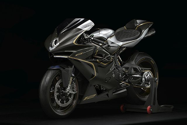 MV Agusta Launches Tribute F4 To Claudio Castiglioni