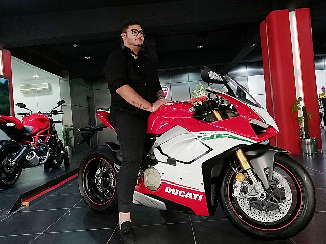 India gets its first Ducati Panigale V4 Speciale