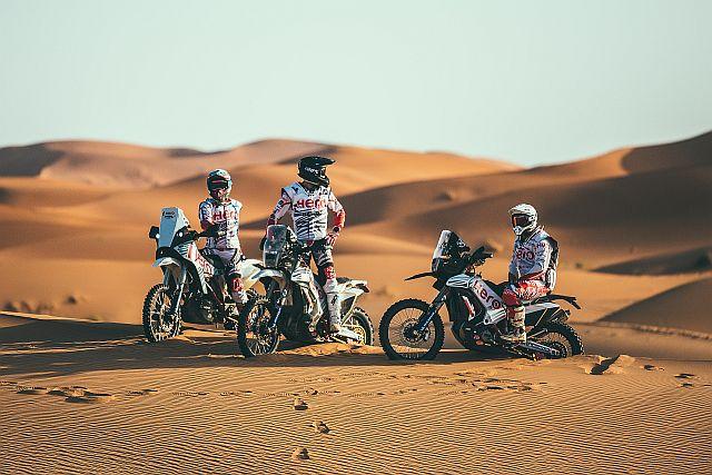 Hero MotoSports Team Rally Introduce Their 2019 Dakar Squad