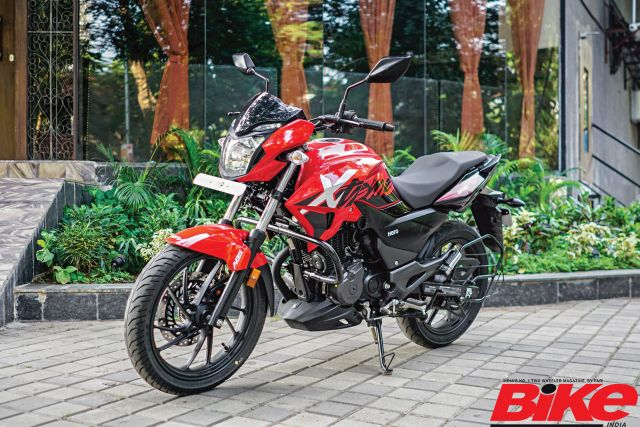 We ride the Hero Xtreme 200R around town and gather some data