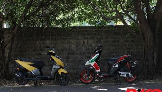 Tech Comparo: TVS Ntorq 125 v Aprilia SR 150 Race – Right Out of the Matrix