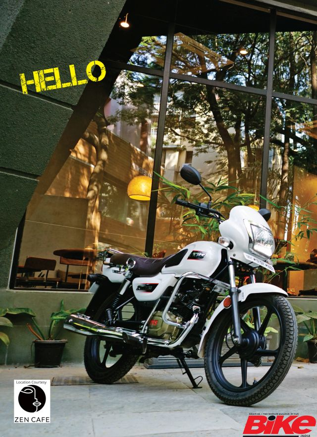 The latest commuter from the TVS stable has arrived at the Bike India garage