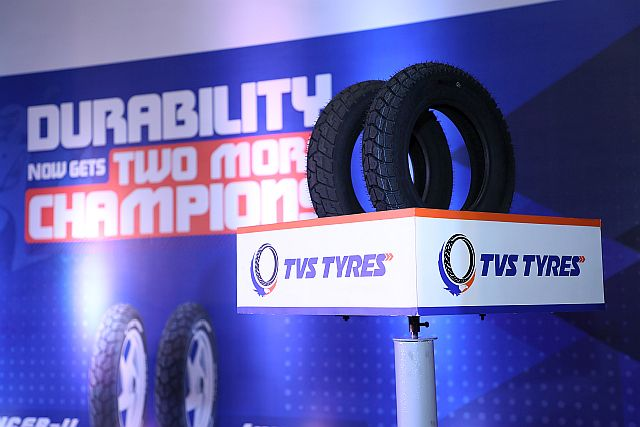 TVS Tyres Launch Two New Scooter Tyre Designs